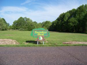 Soetebier Park Sign