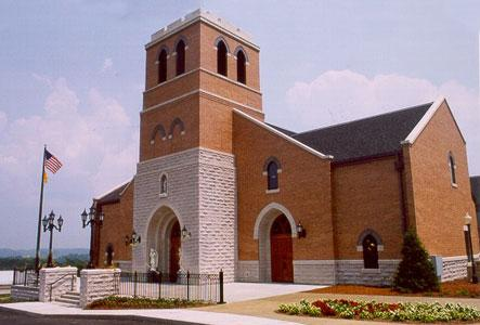 Brick Church Building