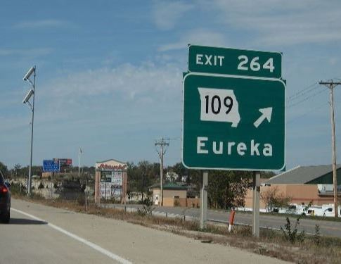 Hwy 109 Sign