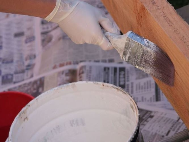 painting home improvement project